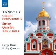 Carpe Diem String Quartet: Taneyev: Complete String Quartets, Vol. 2 - CD