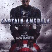 Alan Silvestri: OST - Captain America: The First Avenger - CD