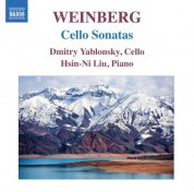 Dmitry Yablonsky: Weinberg: Cello Sonatas - CD