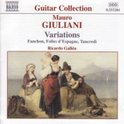 Ricardo Gallen: Giuliani: Variations - CD
