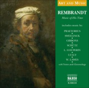 Çeşitli Sanatçılar: Art & Music: Rembrandt - Music of His Time - CD