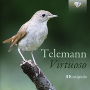 Il Rossignolo ensemble: Telemann: Virtuoso - CD