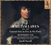 Hespèrion XXI, Jordi Savall: William Lawes: Consort Sets in Five & Six Parts - CD
