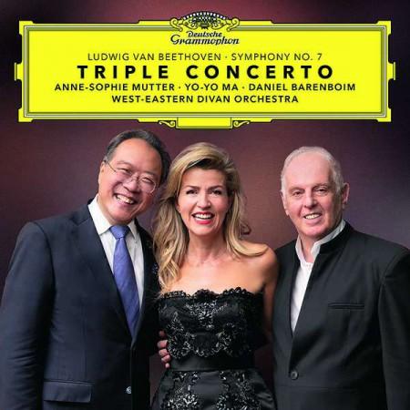 Anne-Sophie Mutter, Yo-Yo Ma, Daniel Barenboim: Beethoven: Triple Concerto,  Symphony No. 7 - Plak
