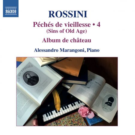 Alessandro Marangoni: Rossini: Piano Music, Vol. 4 - CD