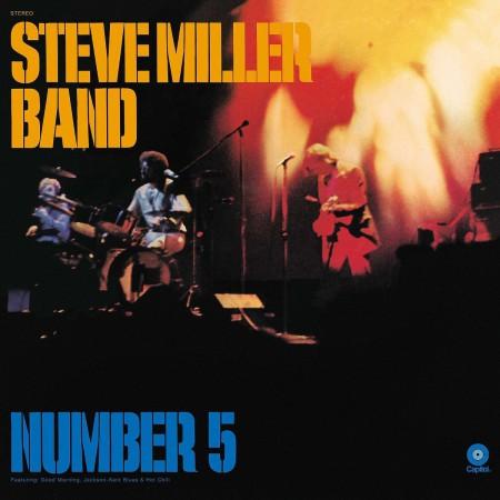 Steve Miller Band: Number 5 - Plak