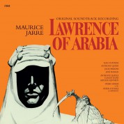Maurice Jarre: OST - Lawrence Of Arabia Soundtrack - Limited Edition in Transparent Red Colored Vinyl. - Plak