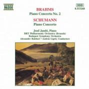 Jeno Jando: Brahms: Piano Concerto No. 2 / Schumann: Piano Concerto in A Minor - CD