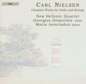 New Hellenic Quartet, Georgios Demertzis, Maria Asteriadou: Carl Nielsen: Chamber Works for Violin & Strings - CD