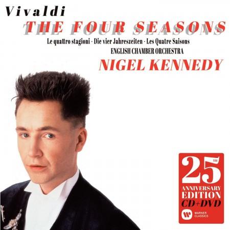 Nigel Kennedy, English Chamber Orchestra: Vivaldi: Four Seasons (25th Anniversary Edition) - CD
