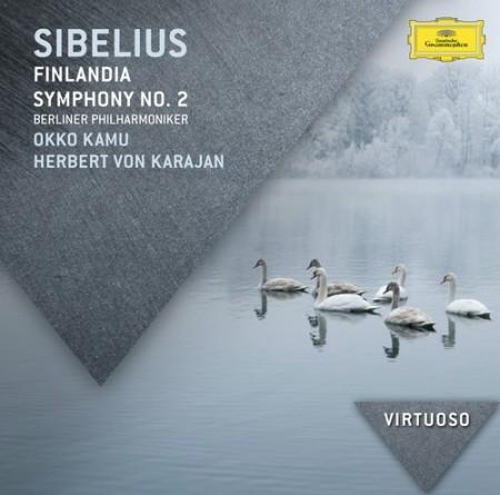 Berliner Philharmoniker, Okko Kamu, Herbert von Karajan: Sibelius: Finlandia; Symphony No.2 - CD