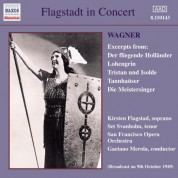 Flagstad, Kirsten / Svanholm, Set: Excerpts From Wagner Operas (1949) - CD