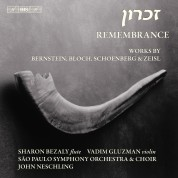 Zicharon - Remembrance (Schoenberg, Bernstein, Bloch, Zeisl) - CD