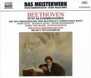 Helmut Muller-Bruhl: Beethoven: Piano Concertos Nos. 1-5 - CD