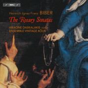 Ariadne Daskalakis, Ensemble Vintage: Biber: Rosary Son. (2/2) - SACD