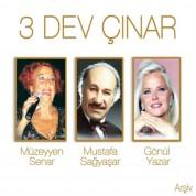 Müzeyyen Senar, Mustafa Sağyaşar, Gönül Yazar: Üç Dev Çınar - CD