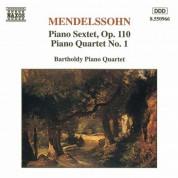 Mendelssohn: Piano Sextet, Op. 110 / Piano Quartet No. 1 - CD