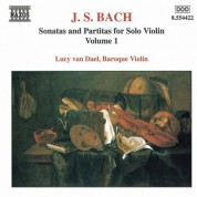 Bach, J.S.: Sonatas and Partitas for Solo Violin, Bwv 1001-1003 - CD