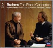 Gewandhausorchester Leipzig, Nelson Freire, Riccardo Chailly: Brahms: Piano Concertos 1, 2 - CD