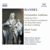 Handel: Coronation Anthems / Silete Venti - CD