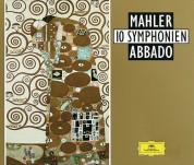 Claudio Abbado, Berliner Philharmoniker, Chicago Symphony Orchestra, Wiener Philharmoniker: Mahler: 10 Symphonien - CD
