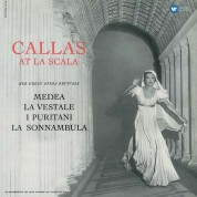 Maria Callas at La Scala - Plak