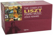 Leslie Howard: The Complete Liszt Piano Music - CD