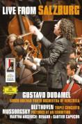 Gustavo Dudamel, Martha Argerich, Simón Bolívar Youth Orchestra of Venezuela: Live from Salzburg - DVD