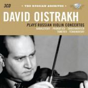 David Oistrakh: The Russian Archives: Oistrakh plays Russian Violin Concertos - CD