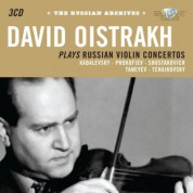 David Oistrakh: The Russian Archives: Oistrakh plays Russian Violin Concertos - CD
