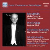 Brahms: Violin Concerto / Wagner: Siegfried Idyll - CD