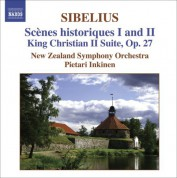 Pietari Inkinen: Sibelius: Scenes Historiques I and Ii / King Christian Ii Suite - CD