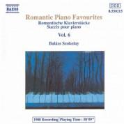 Balázs Szokolay: Romantic Piano Favourites, Vol.  6 - CD