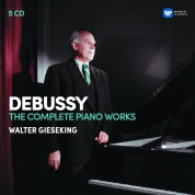 Walter Gieseking: Debussy: The Complete Piano works - CD