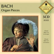 Çeşitli Sanatçılar: J.S. Bach: Organ Pieces - CD