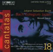 Bach Collegium Japan, Masaaki Suzuki: J.S. Bach: Cantatas, Vol. 18 (BWV 66, 134, 67) - CD