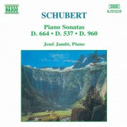 Schubert: Piano Sonatas, D. 664, D. 537 and D. 960 - CD
