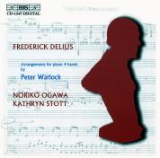 Noriko Ogawa, Kathryn Stott: Delius: Arrangements for piano 4 hands by Peter Warlock - CD