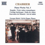 Georges Rabol: CHABRIER: Piano Works, Vol. 3 - CD