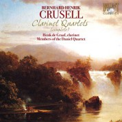 Henk de Graaf, Misha Furman, Itamar Shimon, Joanna Pachucka: Crusell: Clarinet Quartets (Complete) - CD