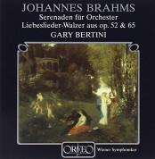 Ingrid Sieghart, Wiener Symphoniker, Gary Bertini: Johannes Brahms: Serenaden Nr.1 & 2, Walzer op.52&6 - Plak