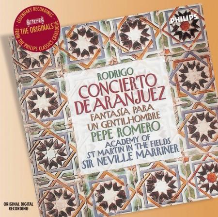 Academy of St. Martin in the Fields, Augustin Leon Ara, Pepe Romero, Sir Neville Marriner: Rodrigo: Concierto De Aranjuez - CD