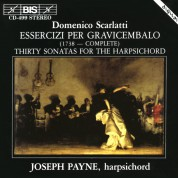 Joseph Payne: Domenico Scarlatti - Essercizi per Gravicembalo - CD