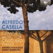 Andrea Favalessa, Maria Semeraro: Casella: Complete Music for Cello and Piano - CD
