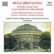 Rule Britannia: Last Night of the Proms - CD