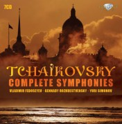 Tchaikovsky Symphony Orchestra of Moscow Radio, London Philharmonic Orchestra, Philharmonia Orchestra, London Symphony Orchestra, Kirov Theatre Orchestra: Tchaikovsky: Complete Symphonies - CD