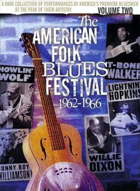 Çeşitli Sanatçılar, Tbone Walker, Lightnin' Hopkins: American Folk Blues Festival 1962-1966 Vol.2 - DVD
