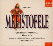 Boris Christoff, Giacinto Prandelli, Orietta Moscucci, Piero de Palma, Orchestra del Teatro dell'Opera di Roma, Vittorio Gui: Boito: Mefistofele - CD