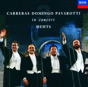 Carreras Domingo Pavarotti - In Concert, Rome, 1990 - CD