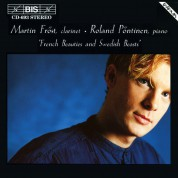 Martin Fröst, Roland Pöntinen: French Beauties and Swedish Beasts for clarinet and piano - CD